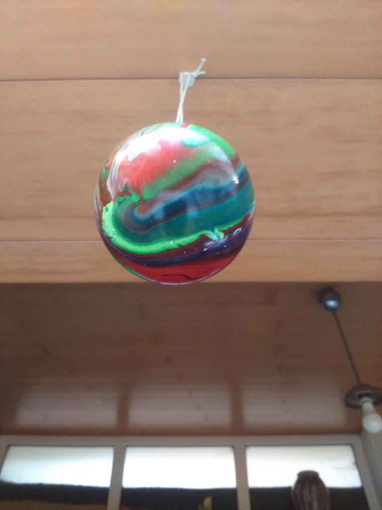 Begoten kerstballen